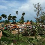 Taiana's place after hurricane Ian, Jan 11th 2014.