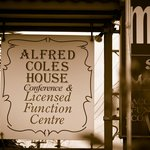 Alfred Coles House front sign