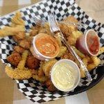 Whole lotta Seafood Platter