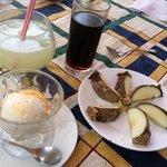 dessert and limonada! :)