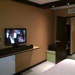 vue chambre coin télé