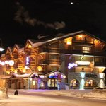 Levanna hotel on the base of the slopes