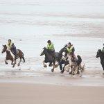 Silecroft Beach gallop