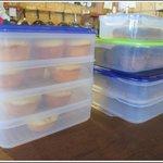 Muffins' storage area