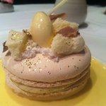 Macarons met witte truffel