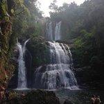 The waterfall: Amazing!