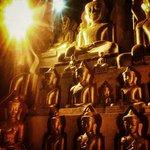 Images of Buddha in Pindaya Cave