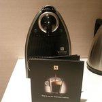 Nespresso machine.