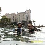 Immersione al Castello di Miramare a Trieste