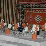 Zelte beim Berberfest