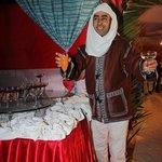 Begrüßung beim Berberfest
