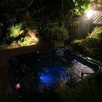 Spa at night