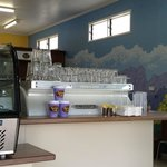 100% local coffee roasted and enjoyed on premises