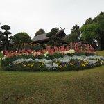 Parco della villa della Regina madre