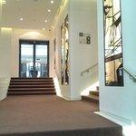 Eingangsbereich in Richtung Lobby