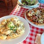 Pizza, Pasta, Salat
