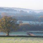 View from Guest Breakfast/Sitting Room at Fairways Crewkerne Somerset. www.fairwaysbandb.co.uk