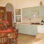 Cucina - soggiorno interno