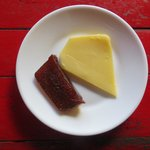 Desert: Guava paste and cheese (soooo good)