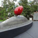 Skulpturparken utanför
