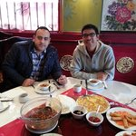 walid and I @ chinese resto