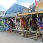 Beachside craft market
