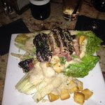 Grilled Caesar w Tuna