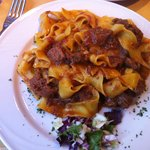Hunter's pappardelle