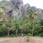 View at the Boca el Diablo