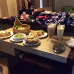yummy and reasonable prices for room service