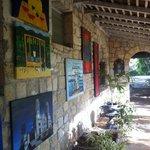il portico della galleria