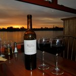 Fantastic view and wine selection at Olitas