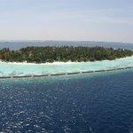 остров с самолётика