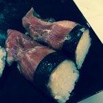Serrano sushi!