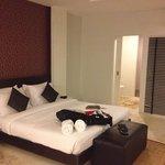 Loft-style spacious room