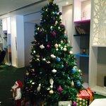 Christmas tree at the lobby