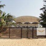 Resort Shack from beach side