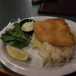 FRESH Halibut with a special sub of MASH - LOVE LOVE LOVE