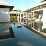 bassin hôtel