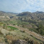 Colca Valley with terraces (before you get to canyon)