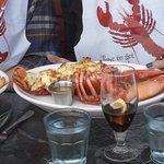baked stuffed lobster $35