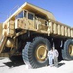 Copper Ore Hauling Truck
