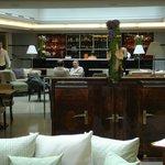 Aria Hotel lobby bar