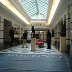 Aria Hotel entrance