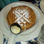 House made waffles