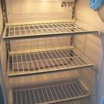 Refrigerator.  Where's the freezer?