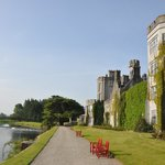 Adare Manor's immaculate grounds and architecture.