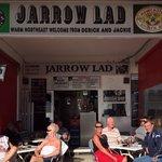 Warm January afternoon in the jarrow lad