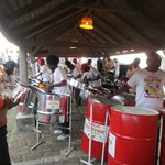 Island Drum Band at Shirley Heights Restaurant, English Harbour, Antigua