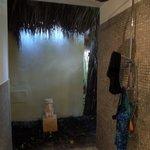 notre douche (en nature)